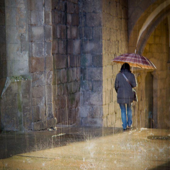 Chove en Santiago